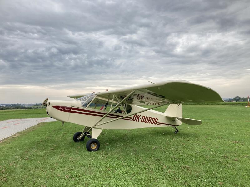 Dokončení opravy letadla Savage Classic!
