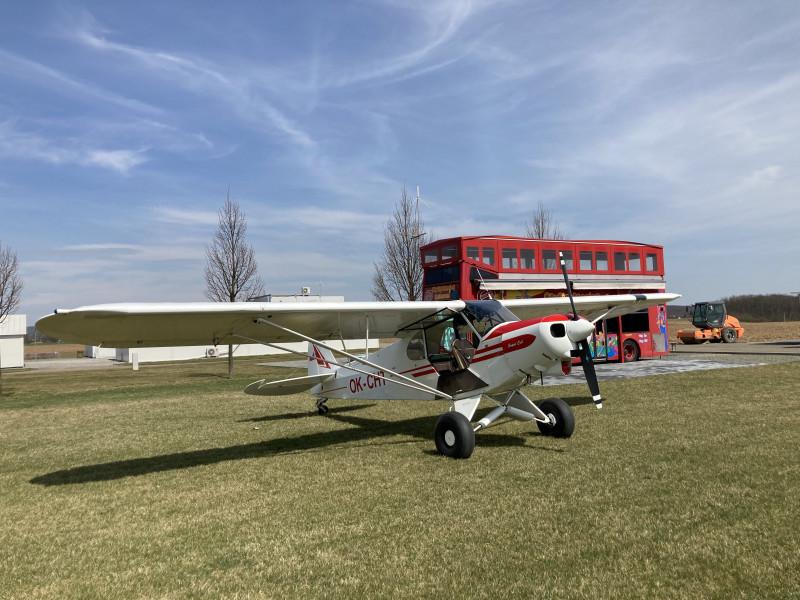 Piper PA-18 Super Cub Annual Inspection photos